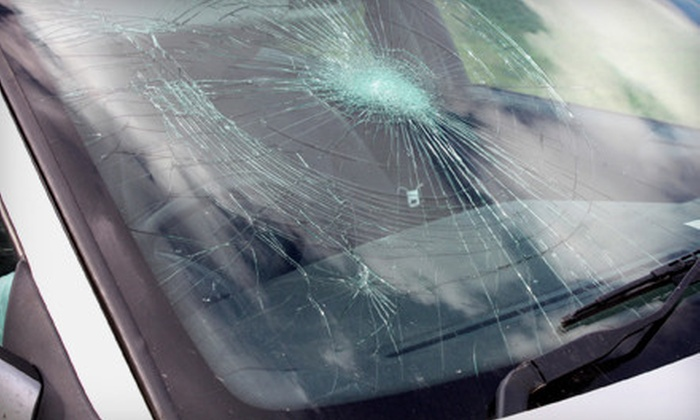 Crackmasters - Multiple Locations: Windshield-Chip Repair or $40 for $80 Toward Windshield Replacement at Crackmasters. Five Locations Available.