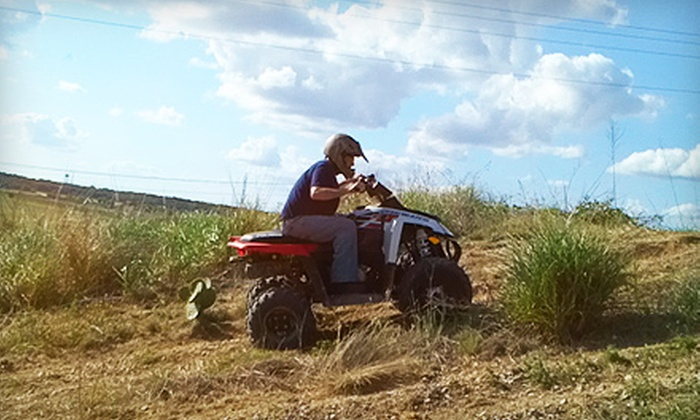 Roll Rage - New Braunfels: $17 for an ATV Adventure from Roll Rage (Up to $34 Value)