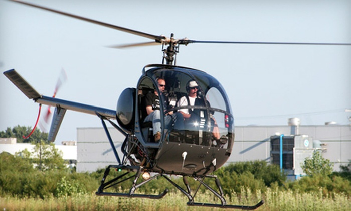 Bachman Aero - Schaumburg: $149 for a Helicopter Flight Lesson from Bachman Aero in Schaumburg ($295 Value)