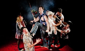 """Evil Dead The Musical Comedy: """"Evil Dead: The Musical Comedy"""" (October 2–31)"""