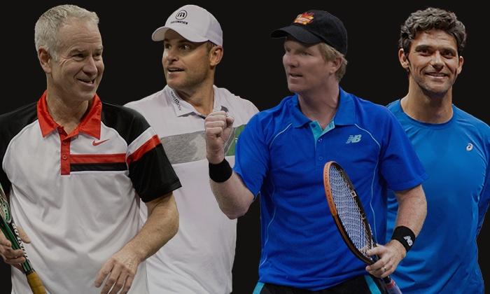 Powershares Series Tennis: Champions Showdown - Landers Center: Champions Showdown Featuring John McEnroe and Andy Roddick April 22 at Landers Center