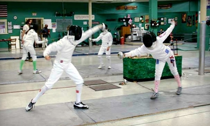 Olympian Fencing Club - San Antonio: $42 for Four Fencing Classes ($85 Value) or $135 for a Children's Fencing Camp at Olympian Fencing Club ($275 Value)