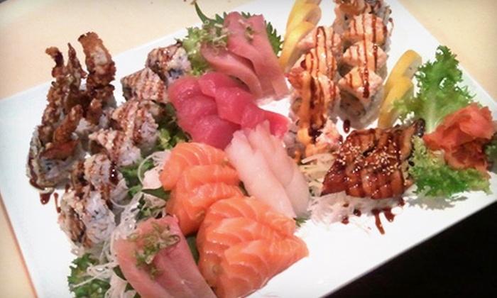 Shogun Restaurant Japanese Steak House - Corpus Christi: $10 for $20 Worth of Sushi and Japanese Fare at Shogun Restaurant Japanese Steak House