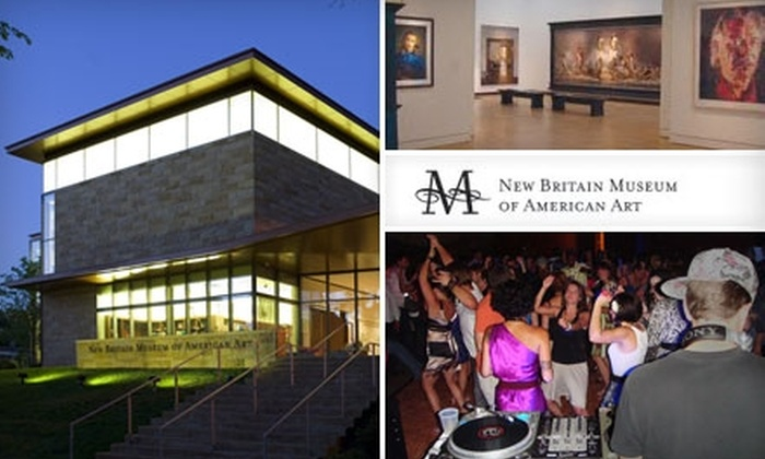 New Britain Museum of American Art - New Britain: $40 for a One-Year Individual Membership, Plus Admission to Four Museum After Dark Events, from the New Britain Museum of American Art