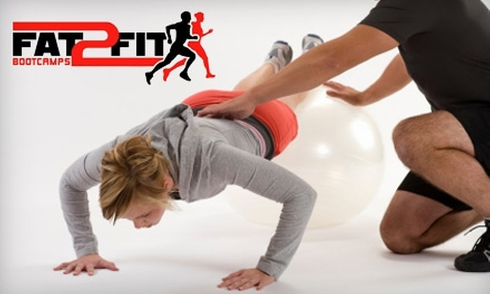 Fat2Fit BootCamps - Bonita Springs: $40 for 30 Days of Classes Plus Nutritional Plan at Fat2Fit Bootcamps ($287 value)