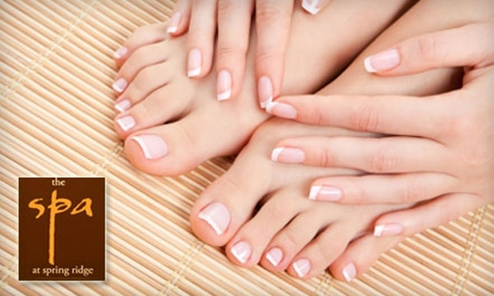 Spa at Spring Ridge - Spring: $55 for a Mani-Pedi and Paraffin Treatment at the Spa at Spring Ridge ($120 Value)