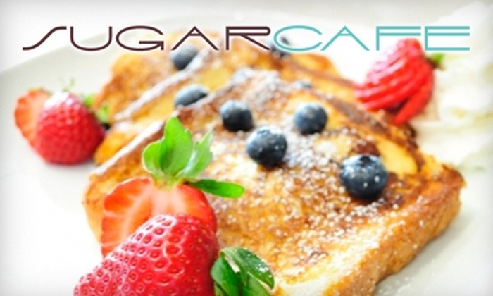 Sugar Cafe - Downtown: $5 for $10 Worth of Breakfast or Lunch, or $10 for $20 Worth of Brunch or Dinner at Sugar Cafe