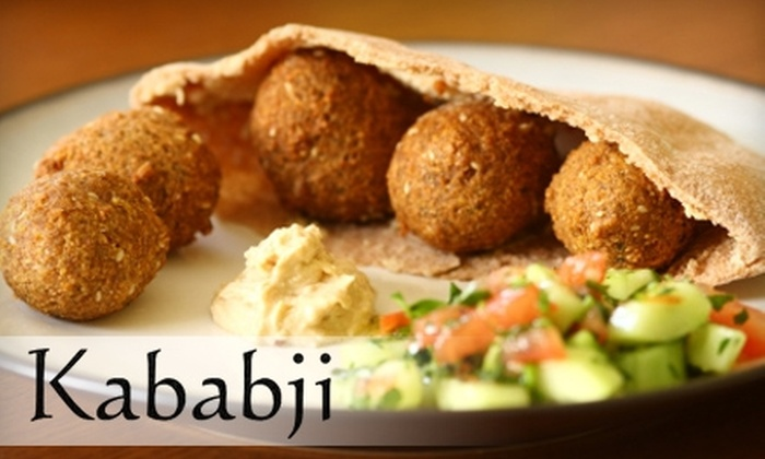Kababji - Dartmouth: $5 for $10 Worth of Lunch Fare or $12 for $25 Worth of Dinner Fare at Kababji
