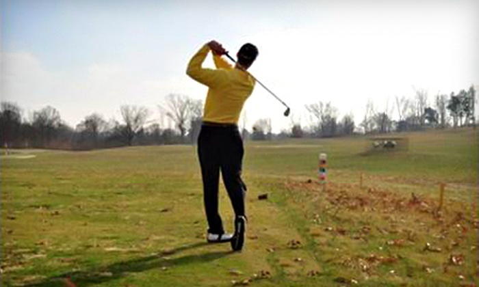 Golden Tee at Tri County Golf Center - Springdale: Two Golf Outings for Two People or Five Buckets of Range Balls at Golden Tee at Tri County Golf Center