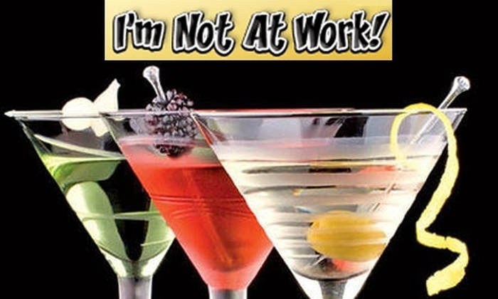 I'm Not At Work - New York City: $12 Food- and Drink-Special Card from I'm Not At Work