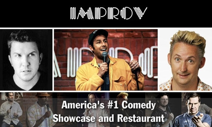 The Hollywood Improv - Melrose: $8 Ticket to Hollywood Improv; Multiple Dates Available.
