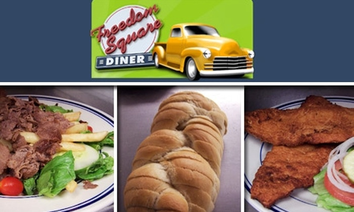 Freedom Square Diner - Cranberry: $10 for $20 Worth of Homemade American Fare at Freedom Square Diner