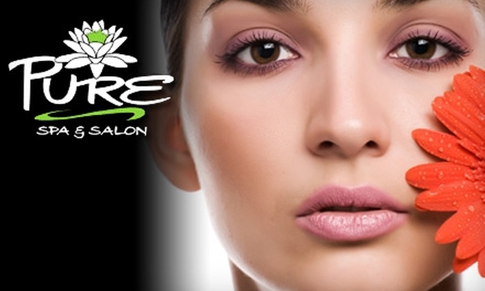 Pure Spa and Salon - Norcross: $39 for a 90-Minute Spa Package: Extreme Facial, Foot and Hand Treatment, and Foot Detox at Pure Spa and Salon in Norcross ($105 Value)