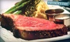 The Wild Mushroom Steak House and Lounge - Weatherford: $30 for $60 Worth of American-Fare Dinner at The Wild Mushroom Steak House & Lounge in Weatherford (or $15 for $30 Worth of Lunch)