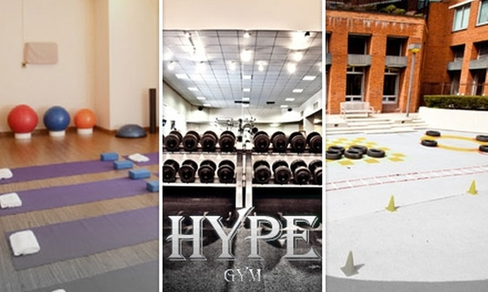 Hype Gym - Kips Bay: $35 for Either One Class of Acrobodics or One Personal-Training Session at Hype Gym (Up to $125 Value)
