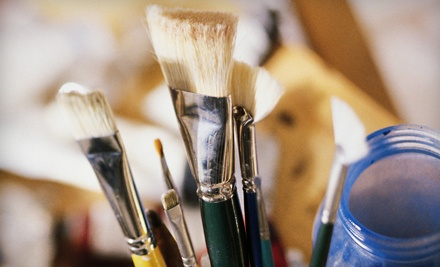 Three 3-Hour Painting Classes (a $125 value) - Jacques Harvey's Art School in Miami