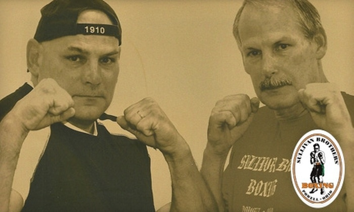 Sullivan Brothers' Boxing Gym - Liberty: $49 for Two Intro Lessons and Three Boxing Workouts at Sullivan Brothers' Boxing Gym ($123 Value)