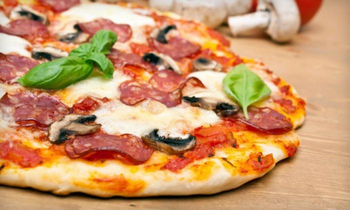 Romantica Italian Grill & Pizzeria - Great Falls: Two 16-Inch Pizzas or $15 for $30 Worth of Italian Fare at Romantica Italian Grill & Pizzeria in Great Falls