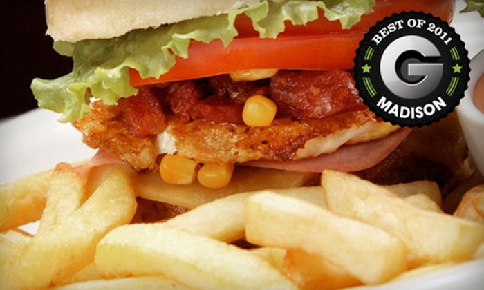 Wando's - Madison: $10 for $20 Worth of Burgers and Pub Fare at Wando's