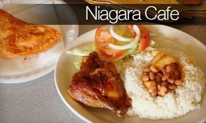 Niagara Cafe - Front Park: $10 for $20 Worth of Puerto Rican Fare at Niagara Cafe