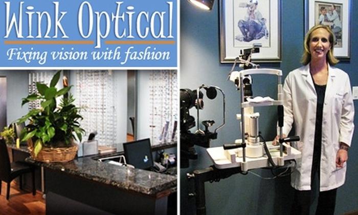 Wink Optical  - DePaul: $40 for Comprehensive Eye Exam at Wink Optical ($89 Value)