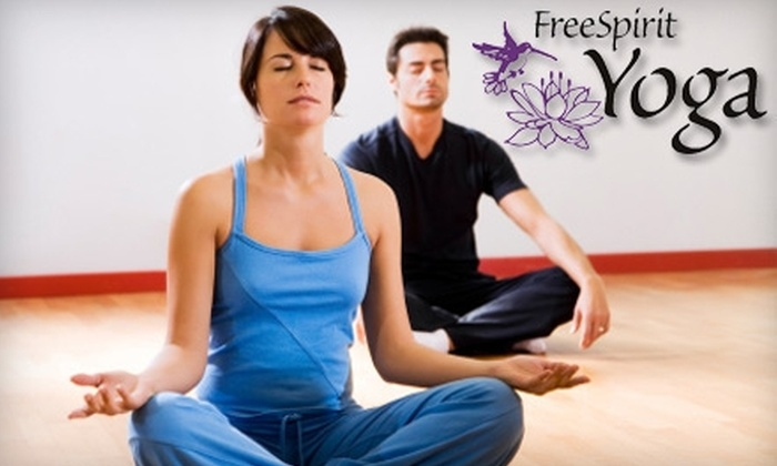 FreeSpirit Yoga - Cal Heights/Bixby Knolls/Los Cerritos: $39 for One Month of Unlimited Yoga Classes at FreeSpirit Yoga in Long Beach ($100 Value)