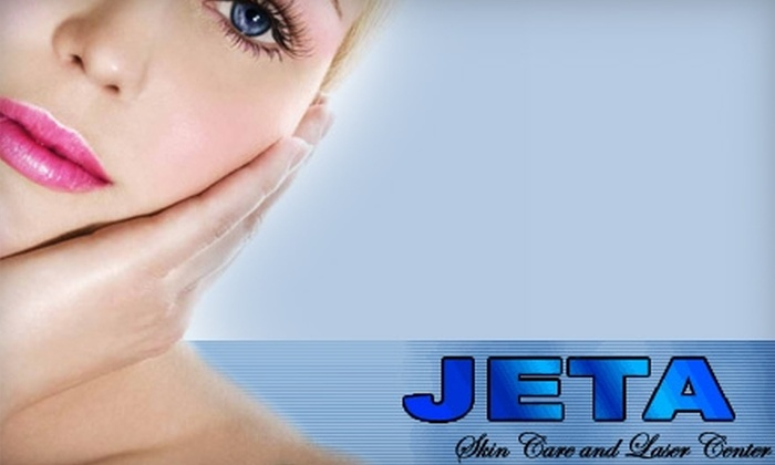 Jeta Skin Care and Laser Center - Ukrainian Village: $75 for Three Small Area Laser Hair-Removal Treatments at Jeta Skin Care and Laser Center (Up to $231 Value)