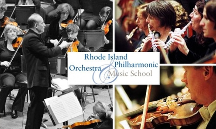 """RI Philharmonic - Multiple Locations: $25 Ticket to """"9th to the Nth"""" Concert by Rhode Island Philharmonic Orchestra"""