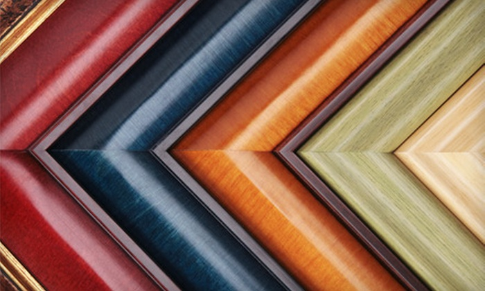 Against The Wall Gallery & Framing - Lincoln: $45 for $100 Worth of Custom Framing Services at Against the Wall Gallery & Framing
