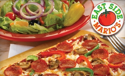 $25 Groupon to East Side Mario's - East Side Mario's in Niagara Falls
