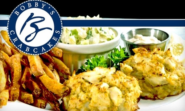 Bobby's Crabcakes - Rockville: $10 for $20 Worth of Seafood, Drinks and More at Bobby's Crabcakes