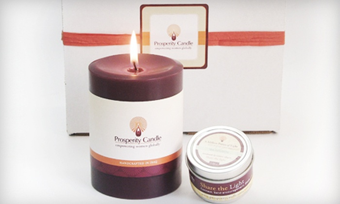 Prosperity Candle - Boston: If 30 People Purchase a Gift Set for $16, Then Prosperity Candle Can Provide a Living Wage for Three Female Entrepreneurs