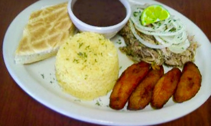 Cuban Breezes - Town N County Alliance: $7 for $15 Worth of Cuban Fare at Cuban Breezes