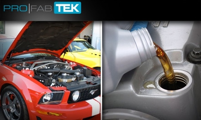 Pro-Tek Automotive - Milwaukie Business - Industrial: Full-Service Oil Change and Inspection at Pro-Tek Automotive. Buy Here for a Regular Oil Change. See Below for a Synthetic Oil Change.
