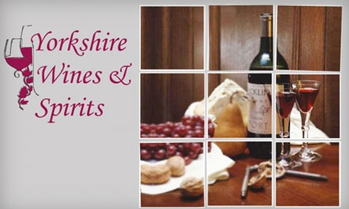 Yorkshire Wines & Spirits - Upper East Side: $30 for $60 Toward Two Bottles of Wine from a List of 17 Varieties at Yorkshire Wines & Spirits