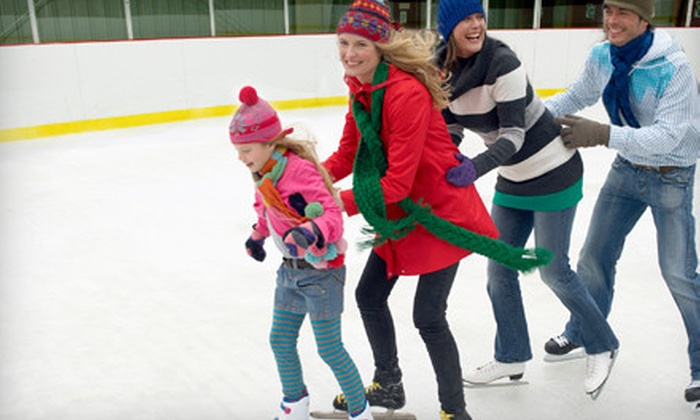 Ice Palace (Lake Forest, Aliso Viejo) - Lake Forest: Ice-Skating Outing for Two or 8-Week Beginner Ice-Skating Class at Lake Forest Ice Palace (Up to 52% Off)