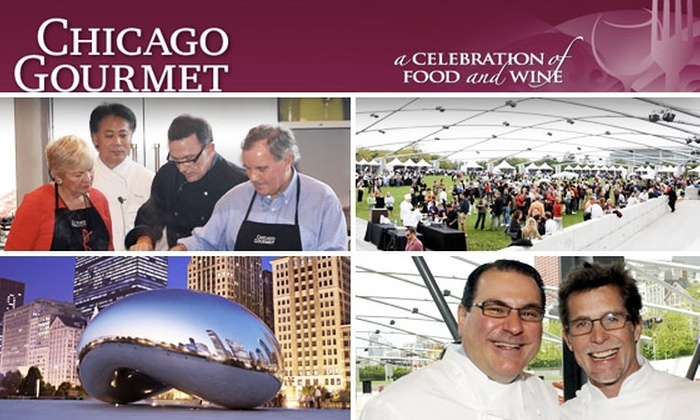 Chicago Gourmet - Chicago: One-Day Ticket to Chicago Gourmet Food Event in Millennium Park, Taxes Included. Buy Here for 9/26. See Below for 9/27.