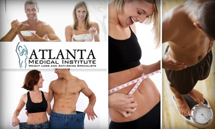 Atlanta Medical Institute - Pine Hills: $75 for One Month of Medically Supervised Weight Loss at Atlanta Medical Institute ($370 Value)