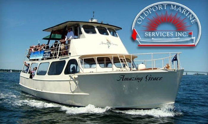Oldport Marine Services - Newport: $7 for a One-Hour Amazing Grace Harbor Tour Cruise Around Newport Harbor and Narragansett Bay from Oldport Marine Services (Up to $15 Value)
