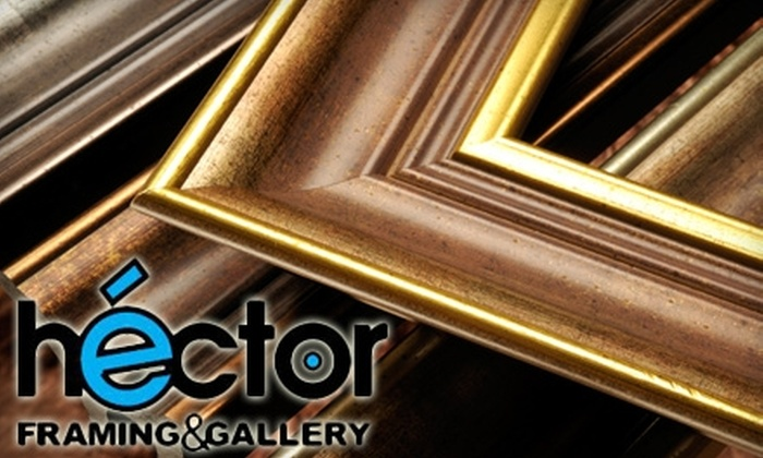 héctor Framing & Gallery - Gainesville: $50 for $100 Toward Custom Framing at héctor Framing & Gallery