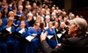 """The Choral Arts Society of Washington - Washington: $20 for One Ticket to The Choral Arts Society of Washington's Performance of """"Northern Lights"""" on May 22 (Up to $65 Value)"""