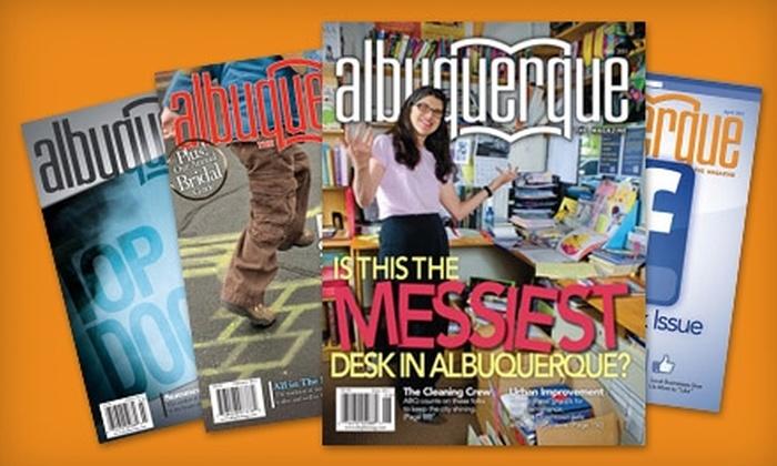"""Albuquerque the Magazine - Albuquerque: $14 for a Two-Year Subscription to """"Albuquerque The Magazine"""" ($28 Value)"""