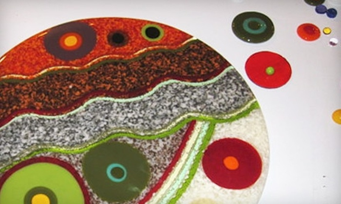 Accents in Glass - Rye: Glass Fusing or Stained Glass Workshop at Accents in Glass in Portsmouth. Two Options Available.