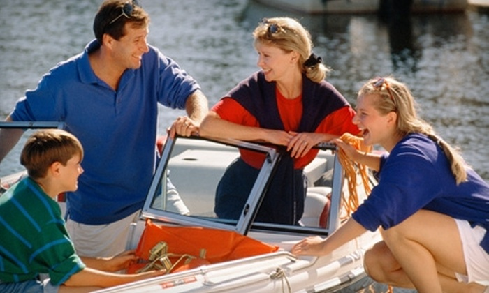 Boat Boys - Buckeye Lake: $49 for a Two-Hour Pontoon or Ski-Boat Rental from Boat Boys in Buckeye Lake (Up to $120 Value)