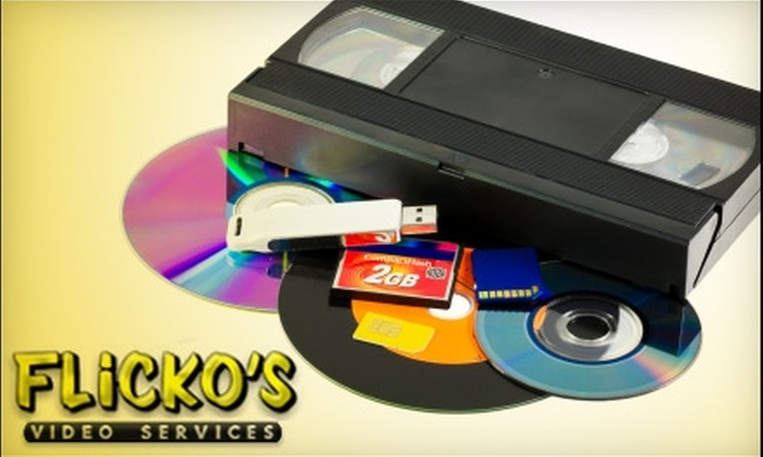 Flicko's in Springfield - Springfield: $12 for One VHS Tape to DVD Conversion at Flicko's in Springfield