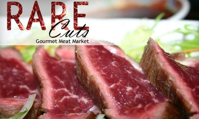 Rare Cuts - Multiple Locations: $15 For $35 Worth of High-End Steaks and Specialty Meats at Rare Cuts. Choose from Two Locations.