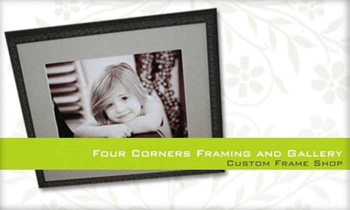 Four Corners Framing and Gallery - Mooresville: $39 for $100 Worth of Custom Framing at Four Corners Framing and Gallery