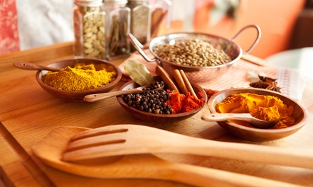 Cooking Demonstration with Three-Course Dinner for Two or Four at Green Chili Indian Bistro (Up to 50% Off)
