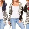 Women's Printed Open Cardigans