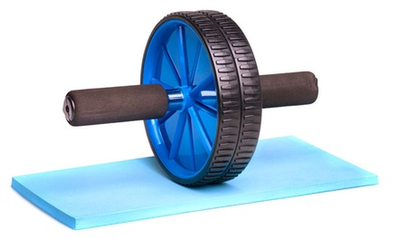 Abs Roller with Knee Mat